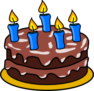 free vector Birthday Cake clip art
