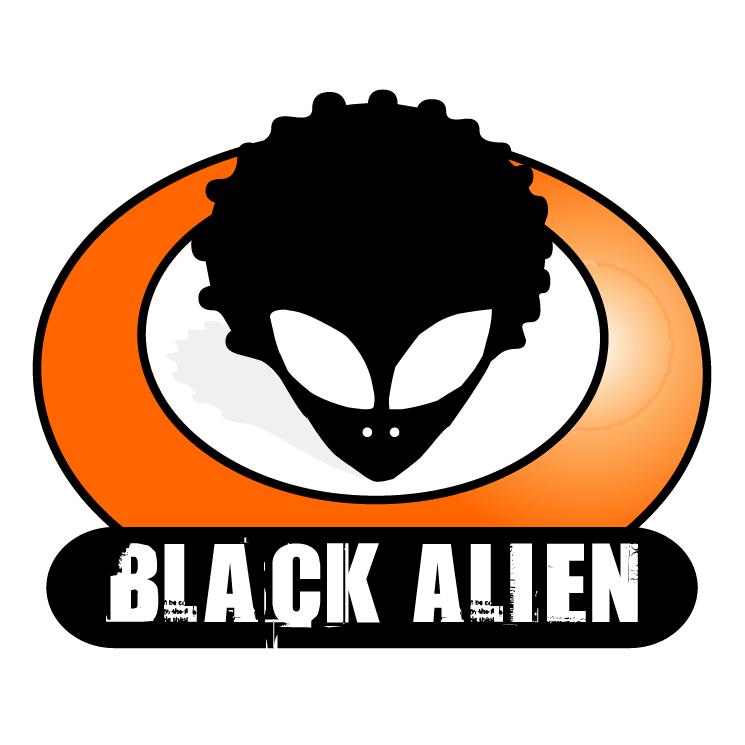 free vector Black alien