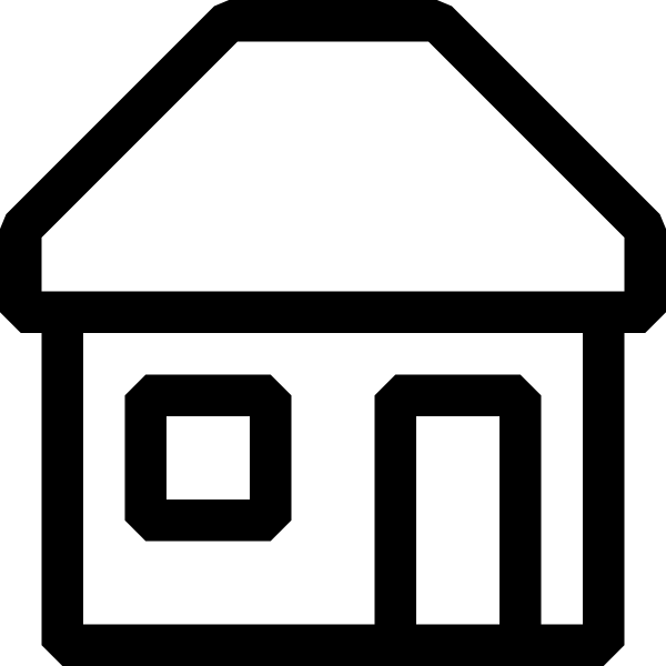 House Clipart Black And White Free Black And White House Icon