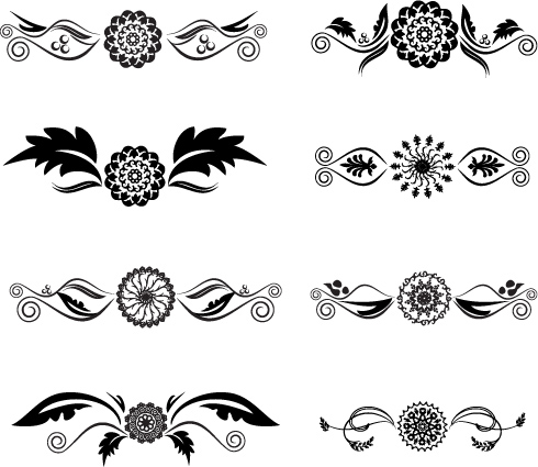 free vector Black and white tattoo totem vector