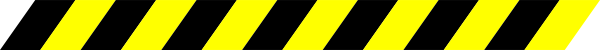 free vector Black And Yellow Warning Stripe clip art