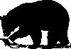 free vector Black Bear clip art