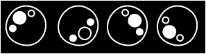 free vector Black Bubbles clip art
