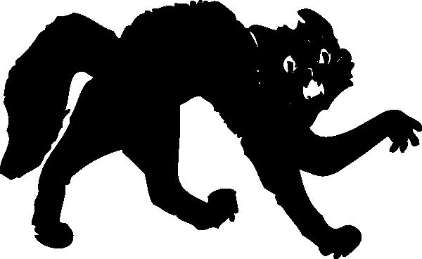 free vector Black Cat clip art