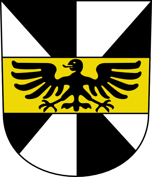 free vector Black Eagle Wipp Hittnau Coat Of Arms clip art