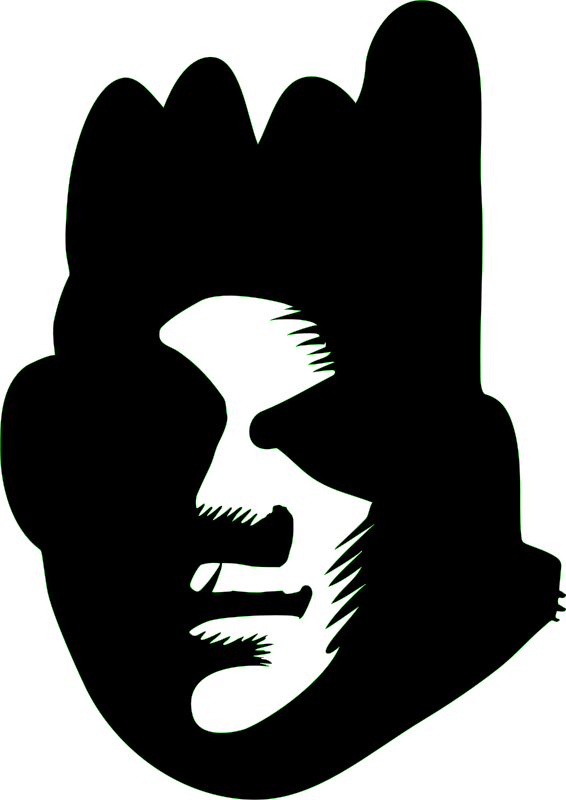 free vector Black Face (graffiti)