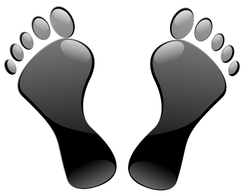 free vector Black Feet