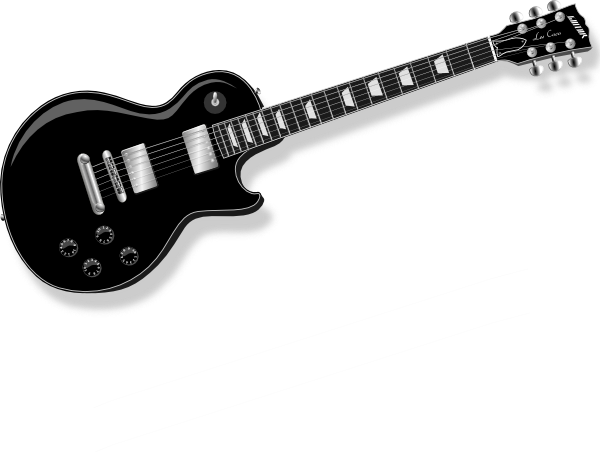 black guitar clip art free vector 4vector rh 4vector com victor guitars denver victor guitars denver