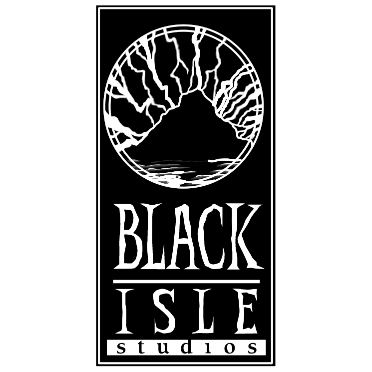free vector Black isle records