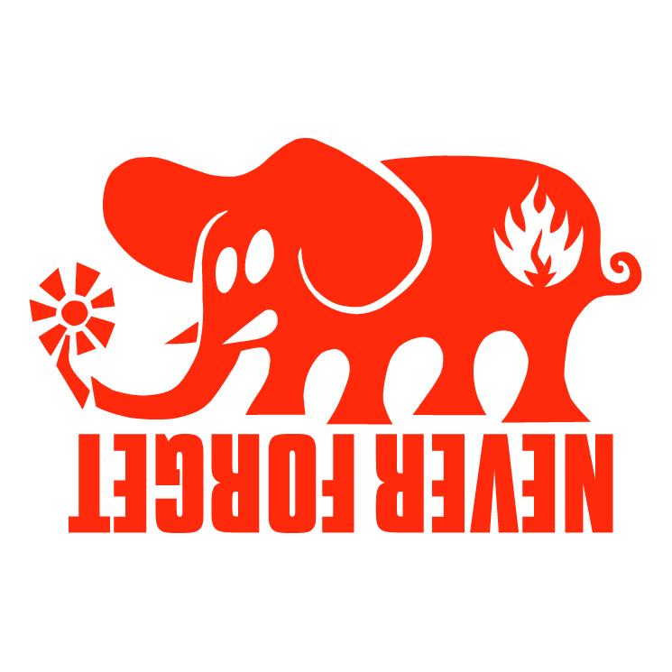 free vector Black label elephant
