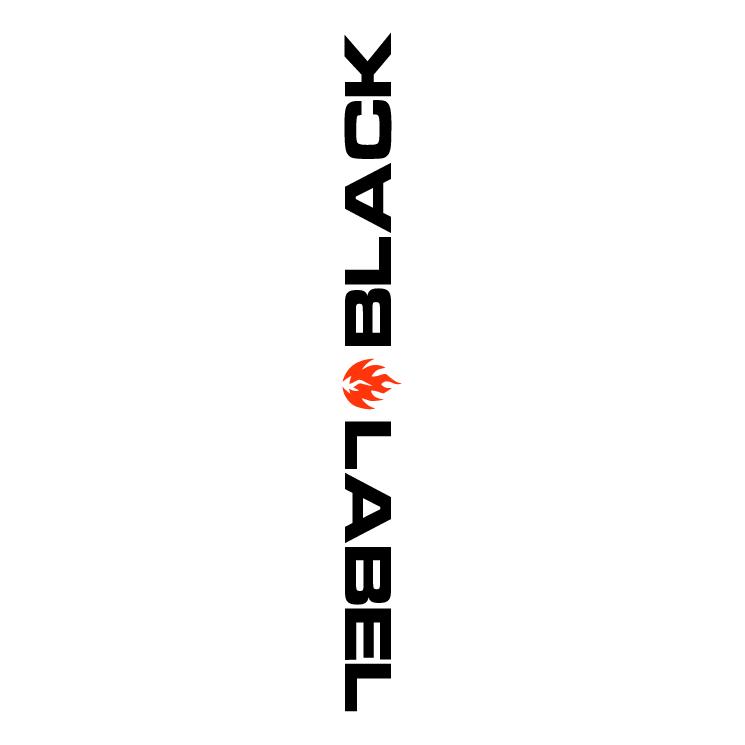free vector Black label