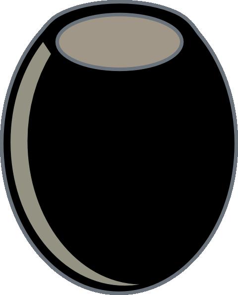 free vector Black Olive clip art