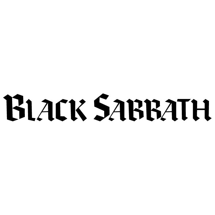 free vector Black sabbath