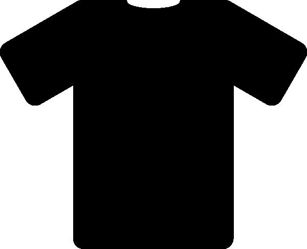 free vector Black T Shirt clip art