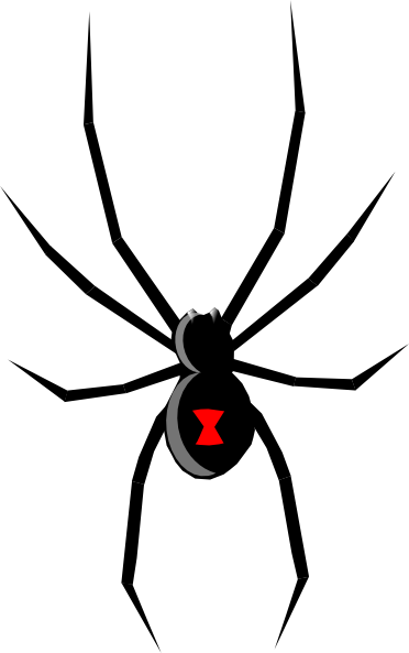 free vector Black Widow clip art