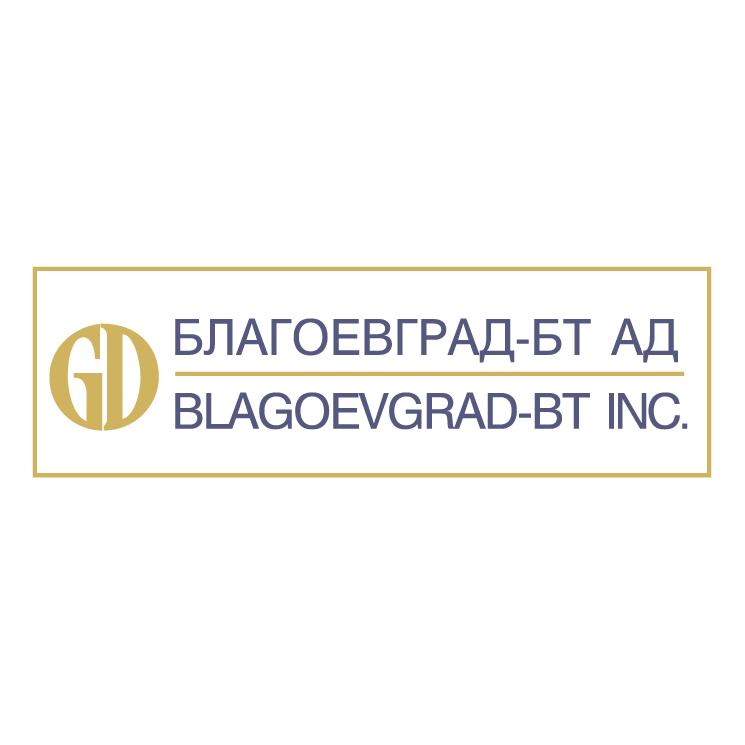 free vector Blagoevgrad bt