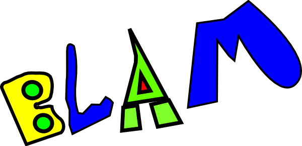 free vector Blam clip art