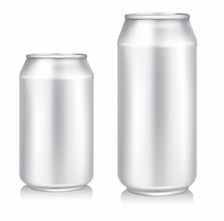 Blank Beer Can 133567 on Aluminum Can Clip Art