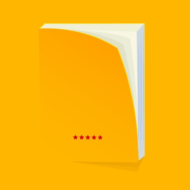 free vector Blank book