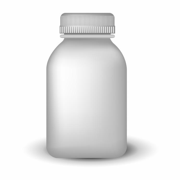 free vector Blank medicine bottle
