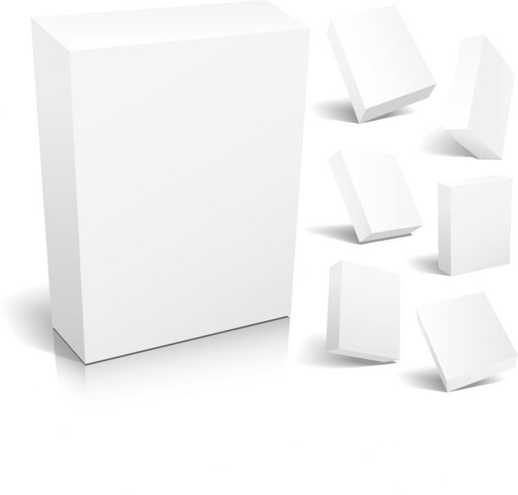 Blank Packaging Vector Free Vector    4vector