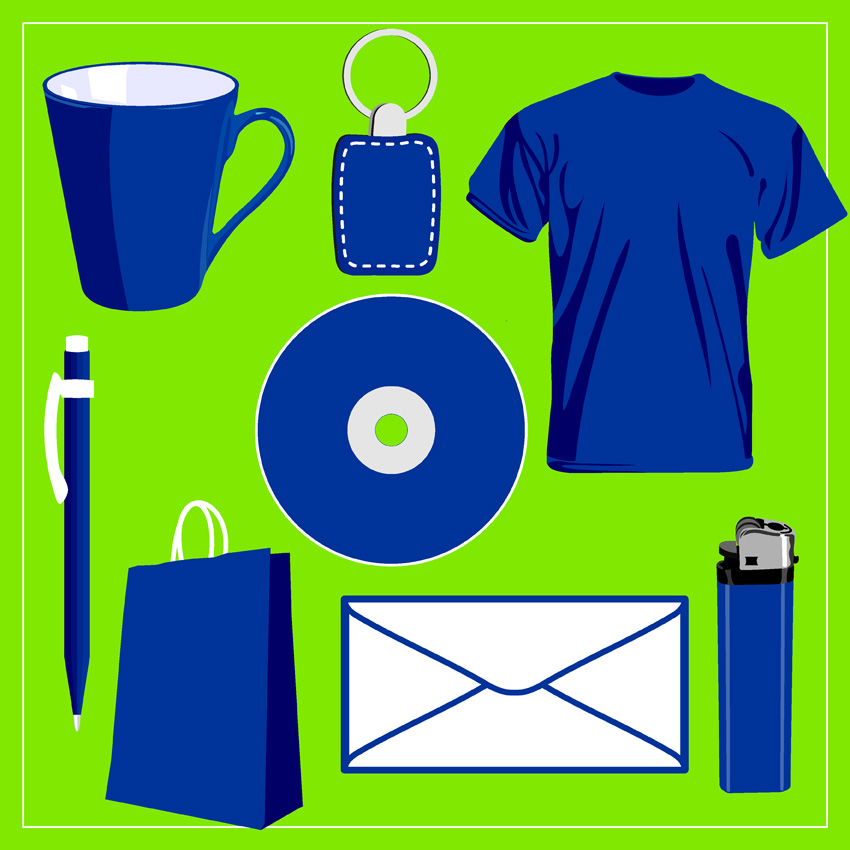 free vector Blank vi design vector commonly used items