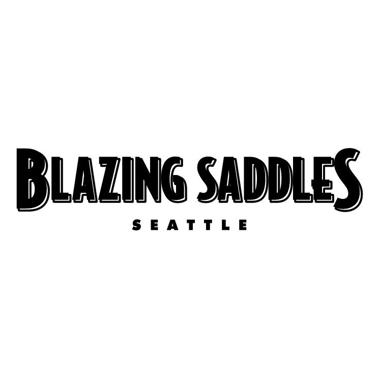 free vector Blazing saddles