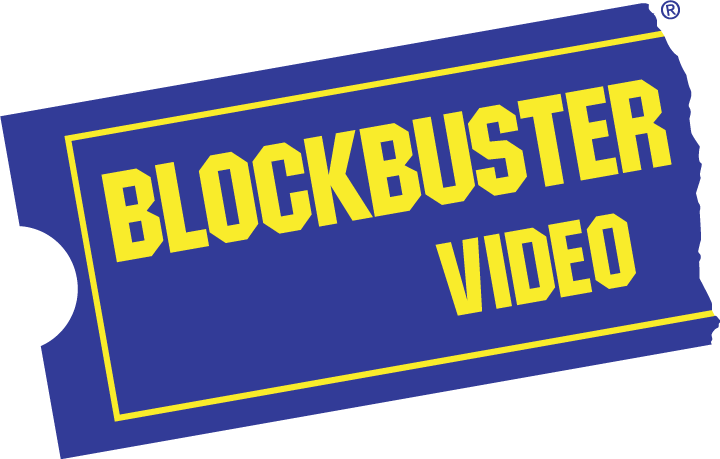 free vector Blockbuster video logo
