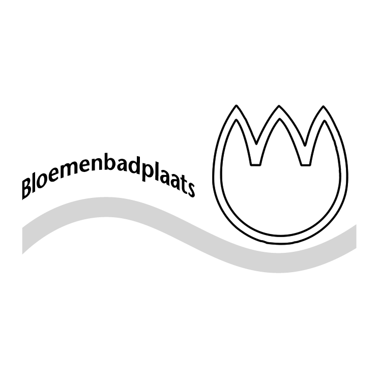 free vector Bloemenbadplaats noordwijk