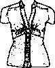 free vector Blouse clip art