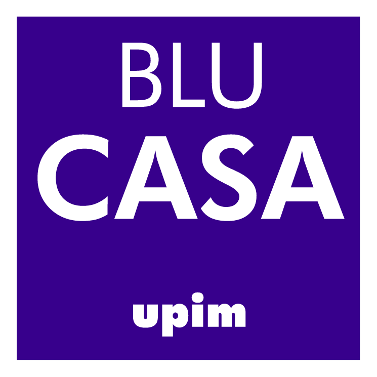 free vector Blu casa upim