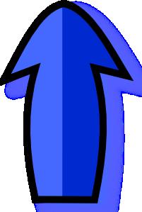 free vector Blue Arrow clip art