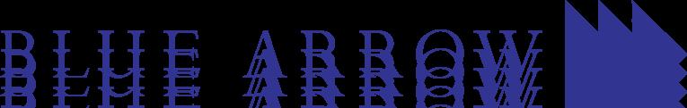 free vector Blue Arrow logo