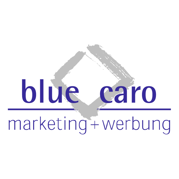 free vector Blue caro