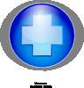 free vector Blue Cross clip art