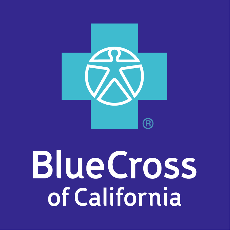 free vector Blue cross of california