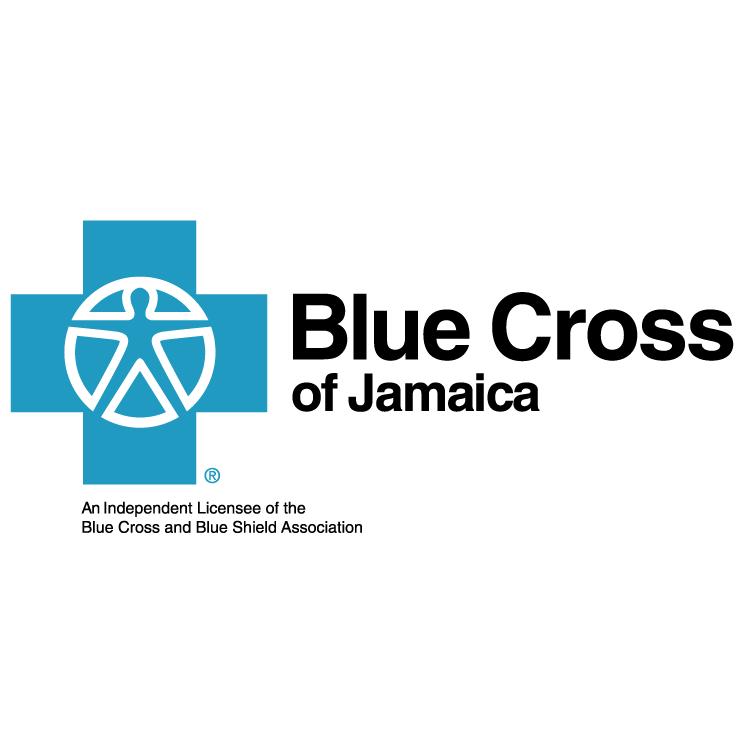 free vector Blue cross of jamaica