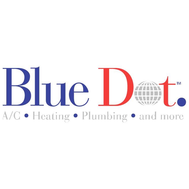 free vector Blue dot