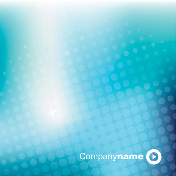 free vector Blue dream vector background