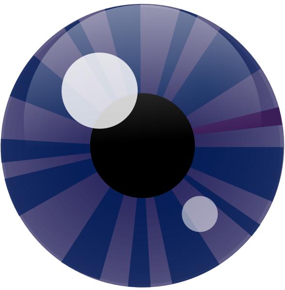 free vector Blue Eye clip art
