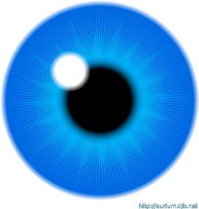 free vector Blue Eye Iris clip art