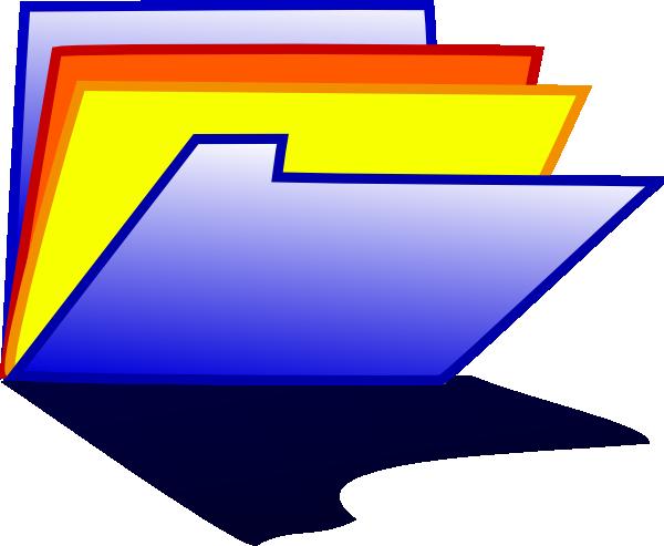 free vector Blue Folder Icon clip art