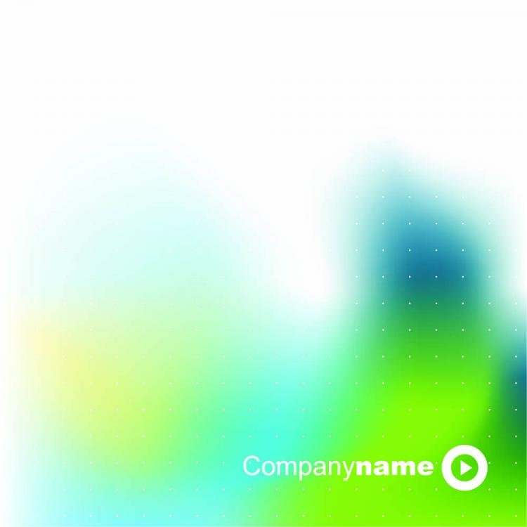free vector Blue glow green background 01 vector