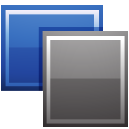 free vector Blue icon main vector material