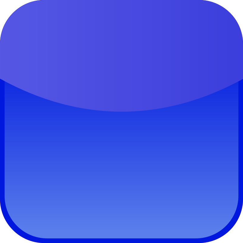 free vector Blue icon