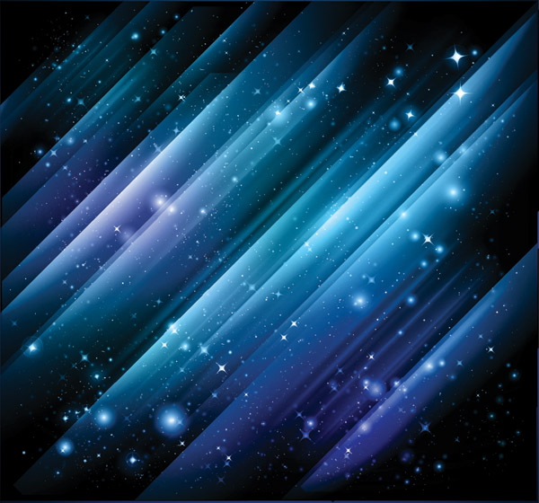 free vector Blue light vector background