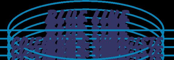free vector Blue Line logo