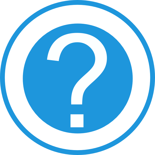 Question Mark Vector Free Blue Question Mark Clip Art is