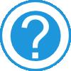free vector Blue Question Mark clip art