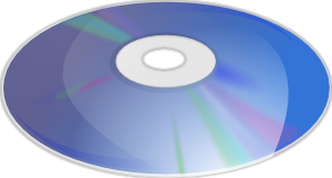 free vector Blue Ray Disk clip art